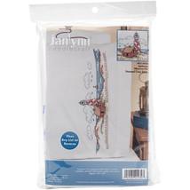 "Janlynn Stamped Cross Stitch Pillowcase Pair 20""X30""-Lighthouse - $17.01"