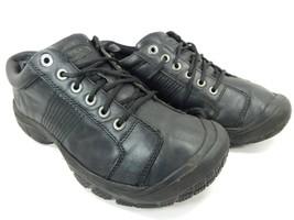 Keen PTC Oxford Slip-Resistant Leather Men's Work Shoes Size US 10.5 M (D) EU 44
