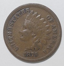 1879 Indian Head Penny / Cent Coin Lot# E 332