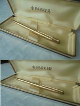 PARKER 65 PENNA A SFERA IN ORO 12K GF + SCATOLA Ball Pen Gold Filled +Bo... - $56.03