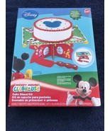 Wilton Disney MICKEY MOUSE CLUBHOUSE Cake Stand Kit NIB w/ Server Sheet ... - $19.79