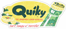 Quiky Soda,, Vintage Inspired Advertisement - $29.95
