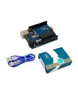 UNO R3 for arduino MEGA328P 100% original ATMEGA16U2 with USB Cable + UN... - $9.89
