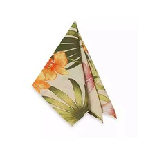 "Tommy Bahama African Orchid Napkins 19"" x 19""  Set of 4 Tropical Beach Home - $36.51"