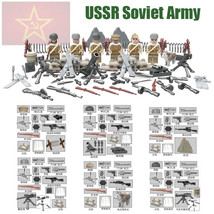 SA 1 pc Soviet army 2017 Military Small Army Figure with Weapons minifig... - $43.78
