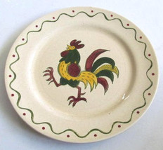 "Vintage California Provincial ""Poppytrail"" Collectible Rooster Dinner Pl... - $18.99"