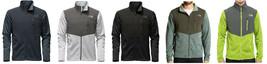 New Mens North Face Norris Full Zip Fleece Jacket Various Sizes & Colors $129 - $75.00
