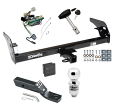 """Trailer Tow Hitch For 95-04 Toyota Tacoma Deluxe Package Wiring & 2"""" Bal... - $247.36"""