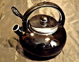 TeaPot Black Vintage COPCO 0908 AA18-1241