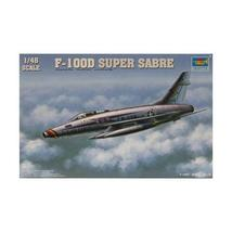 TRUMPETER 1/48 F-100D Super Saber plastic model fighter - $85.77