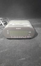 Sony Dream Machine Fm Am Clock Radio Alarm Mode... - $9.10