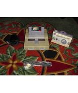 Nintendo SNES White Console (NTSC) SUPER MARIO ALL-STARS & NEW CONTROLLER - $79.19