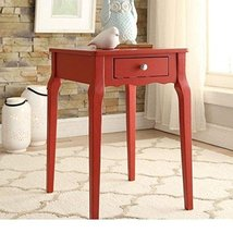 ModHaus Living Modern Country Style Wood Accent Nightstand End Sofa Side... - $102.70