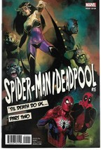 SPIDER-MAN Deadpool #15 Reis Poster Var (Marvel 2017) - $10.92