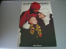 Coats & Clark Accent on Warmth Booklet #278 (1979) - $6.92