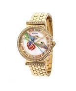 Bertha Emily Mother-Of-Pearl Bracelet Watch - Gold - $505.00