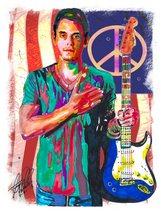"John Mayer, Guitar, Vocals, Blues, Rock, Acoustic, Music, 18""x24"" Art Pr... - $19.99"