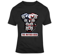 Route 66 V Twin, Engine, America, Travle, Riding, Road Trip T Shirt - $26.99