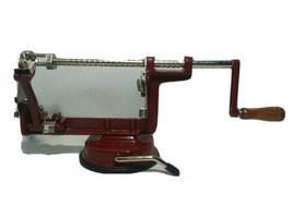 Back to Basics Apple / Potato Cast Iron Peeler Corer Slicer Peel Away Mo... - $19.39