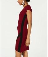 Crave Fame Juniors' Asymmetrical Cutout Bodycon Dress Wine/Black Size M - $14.24