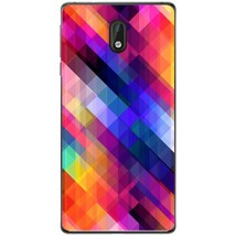 Stripes obliquely multicolored Nokia 3 Phone Case - $15.99