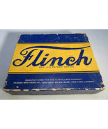 Vintage Flinch Card Compagny Game Parker Brothers Blue Box Complet - $20.00