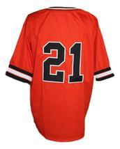 3 Ninjas Kick Back Movie Baseball Jersey Orange Miyo #21 Any Size image 4