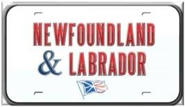 Canada NEWFOUNDLAND License Plate Refrigerator Magnet - $1.99+
