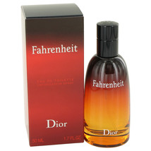 Christian Dior Fahrenheit 1.7 Oz Eau De Toilette Spray image 3