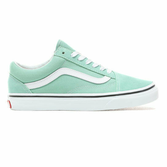 Primary image for MEN'S VANS OLD SKOOL VN0A38G1VMX NEPTUNE GREEN/TRUE WHITE DS BRAND NEW