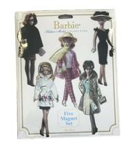 Barbie Mattel Five Magnet Set Silkstone Fashion Model Collection Ata Boy - $10.36
