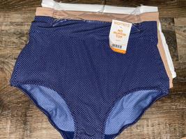 Warner's Womens Brief No Muffin Top Underwear Panties Polyester 3-Pair (... - $23.36