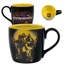Universal Studios Transformers Bumblebee Decal Artwork 22 Oz Coffee Mug New - $25.28