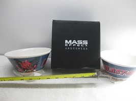 Mass Effect Andromeda Blast Ohs Cereal Bowl Set Of 2 Loot Crate Exclusiv... - $24.18