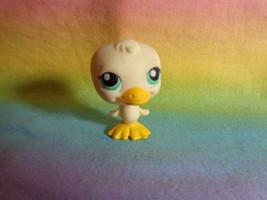 2004 Littlest Pet Shop Light Yellow Baby Duck Green Dot Eyes #199 - $3.95