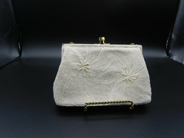 White Beaded Evening Handbag - $80.00