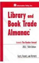 Library and Book Trade Almanac 2011 Bogart, Dave and Blixrud, Julia C. - $34.05