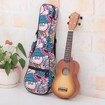 Cartoon Thicken 10MM Soprano Concert Tenor Ukulele Bag Case Backpack Pa... - $29.69+