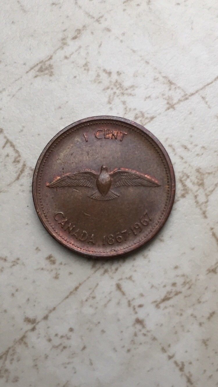 1964  Canada  Canadian Small  Cents  one cent  Penny Coin  BU Combined  Shipping