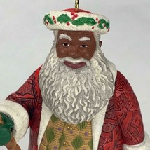 Hallmark Keepsake Ornament Joyful Santa Collectors Series 1999 Vintage - $12.45