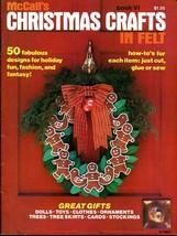Vintage McCall's Christmas Crafts in Felt Book VI 1978 PB - $15.00