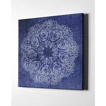 "Mandala By Woods Giclee Canvas Wall Art, 18"" X 18"", Rary - $85.99"