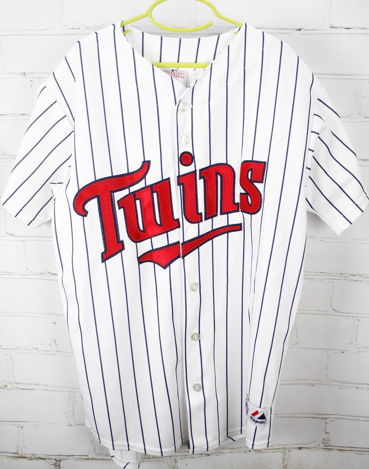 e7075c77 57. 57. Previous. Minnesota Twins Joe Mauer 7 Short Sleeve Baseball Jersey  Youth Boy's L Large MLB