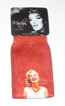 Marilyn Monroe Red Pouch Adjustable Strap Cellphone Keys Smiling New - $3.46