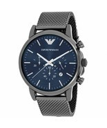 NEW EMPORIO ARMANI AR1979 Sport Chronograph Stainless Steel Men's Wrist ... - $157.60 CAD