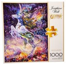 Buffalo Glitter Josephine Wall Edition Soul of a Unicorn 1000 Pc Jigsaw ... - $29.65