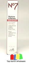 No7 Restore And Renew Multi Action Eye Cream 0.5 oz Fresh All Skin Types... - $27.82