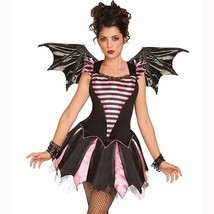 Sweetheart Bat Adult Halloween Costume with Wings Size Small 6-8 New - $19.75