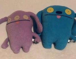 """Uglydoll Plush 11"""" Ket 10"""" Quippy Stuffed Animal Blue Dog Pretty Ugly Doll Lot - $24.99"""