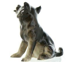 Hagen Renaker Pedigree Dog German Shepherd Puppy Ceramic Figurine image 6